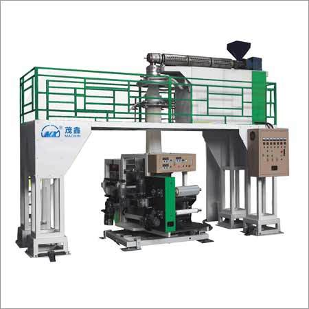 Monolayer Water-Cooling Film Blowing Machine Line