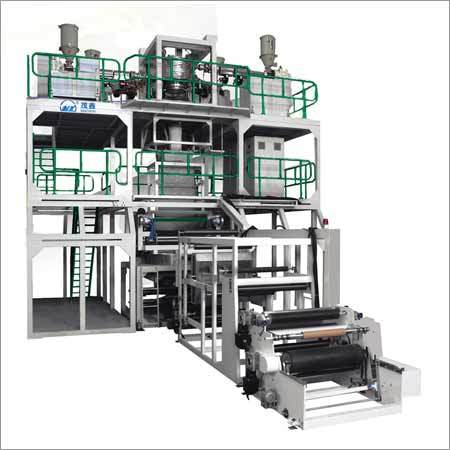 3-5Layer Co-extrusion High Barrier Film Blowing Machine Line