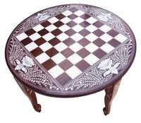 Round Chess Table 20 Inch