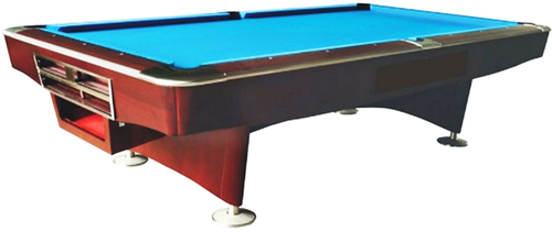 Gold Crown Tournament Pool Table
