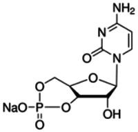 Cytidine 3′:5′-cyclic monophosphate sodium salt