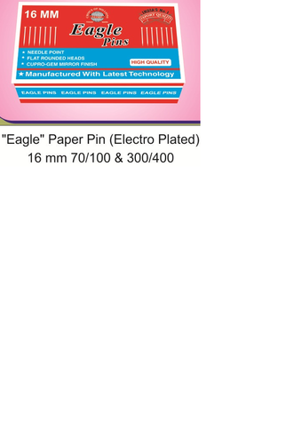 Eagle 16mm paper Pin