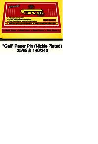Gail Paper Pin