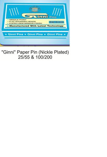 Ginni Paper Pin