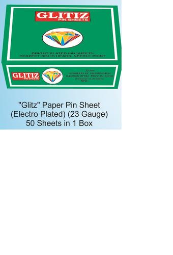 Glitz Pin Sheet
