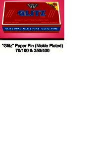 Glitz Paper Pin
