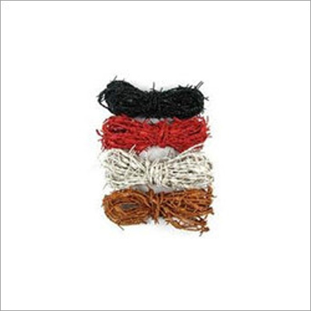 Barbwire Leather Cord