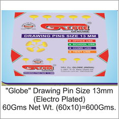 Globe Big Drawing Pin