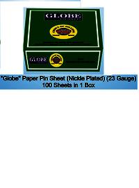 Globe Pin Sheet