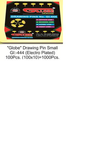 Globe Small Drawing Pin
