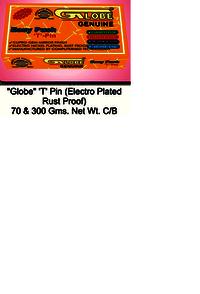 Globe T Pin CB