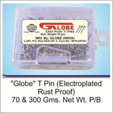 Globe T pin PB
