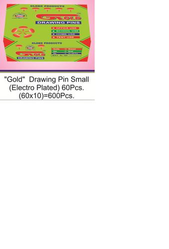 Gold Small Drawing Pin