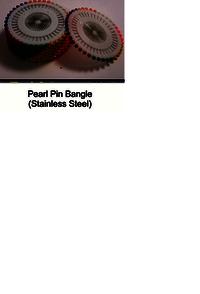 Pearl Pin Bangle