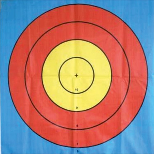 Target Face for Archery 124 x 124 Inch