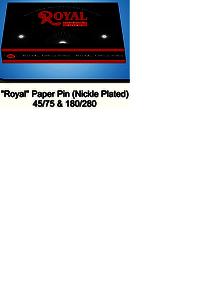 Royal Paper Pin