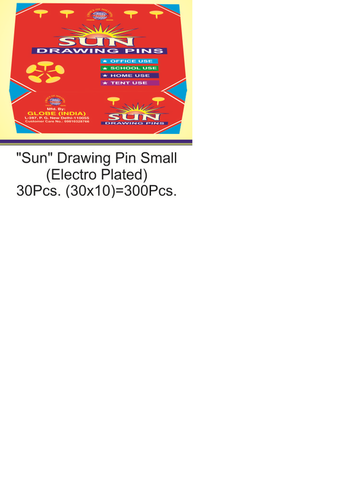 Sun Drawing Pin