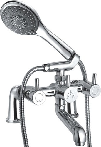 Bath Tub Mixer With Crutch Only Arrangement Teleph