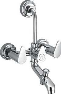 Brass 3 in 1 Wall Mixer For Bathroom