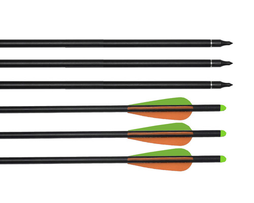 AdraXx 22inch Carbon Fibre Arrow With 300 Spine For Heavy Crossbows Set of 3