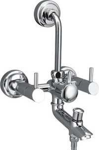 Brass Three In One Wall Mixer For Bath Shower