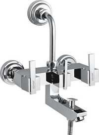 Brass Wall Mixer 3-in-1 For O.H. & Hand Shower