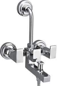 Brass Wall Mixer 3 In 1 For O.H. & Hand Shower