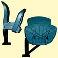Tip Up Chair (Injection Moulded Tip-up Ch