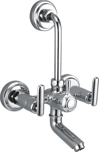 Brass Wall Mixer L Bend For Bath Shower
