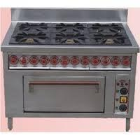 Six Burner Continental Range With Oven