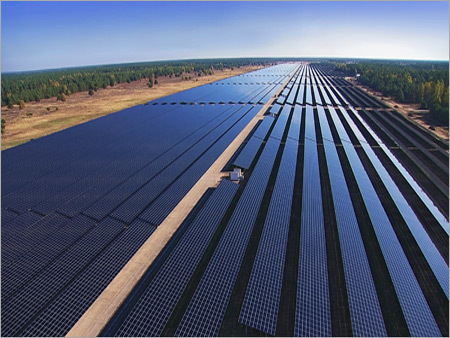 Industrial Solar Power Plant