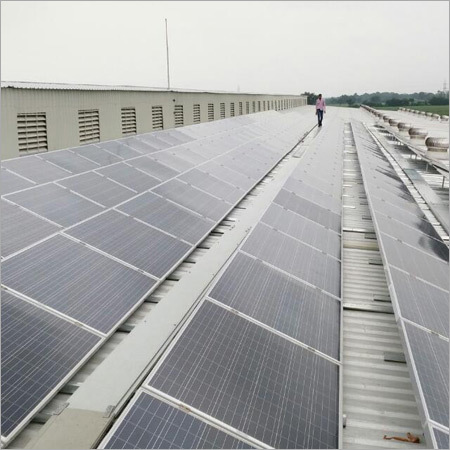 Industrial Solar Rooftop System