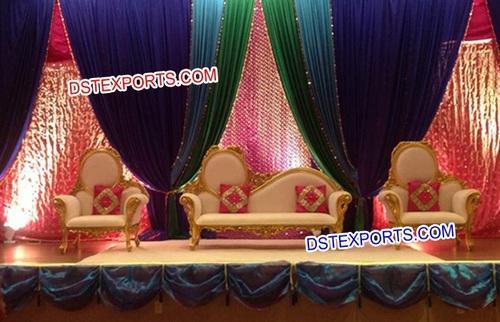 Wedding Wooden Reception Stage Furniture