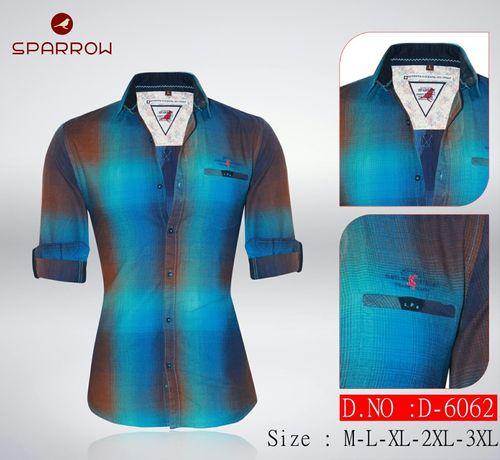 Men's chex shirt