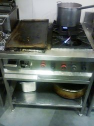 Two Burner With Hot Plate