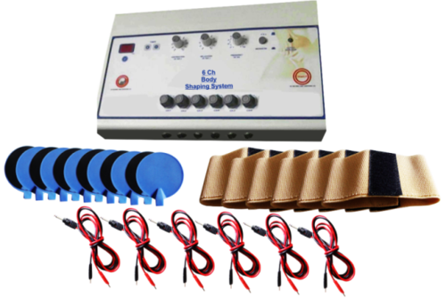 Home Use Slimming Machine 6 Channels 12 Pads