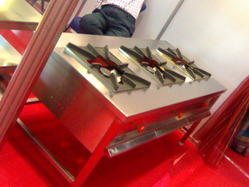 Three Burner Indian Cooking Gas Stove