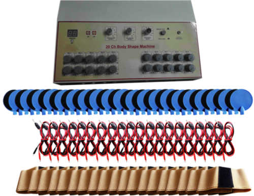 Body Shaping Machine 20 Channels 40 Pads LED Machines