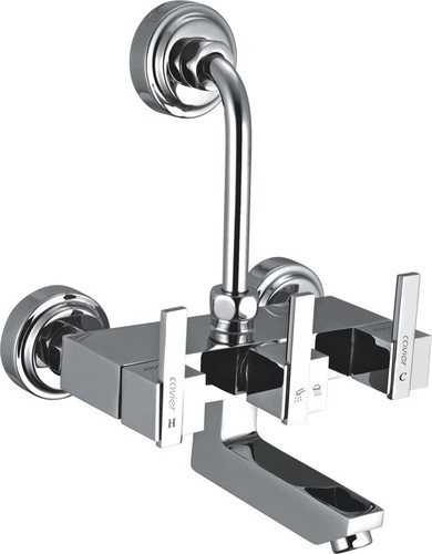 Brass Wall Mixer With L Bend For O.H. Shower