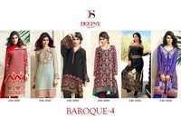 DEEPSY (BAROQUE-4) Designer Straight Salwar Kameez Wholesale