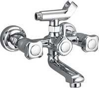 Walll Mixer With Wall Flanges & Crutch