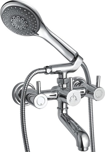 Wall Mixer With Crutch Only Arrangement Telephone