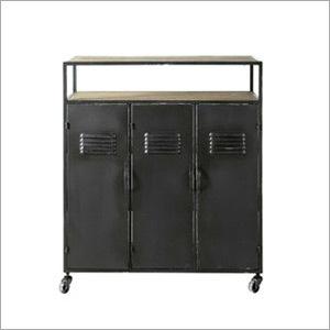 Antique Iron Cabinet