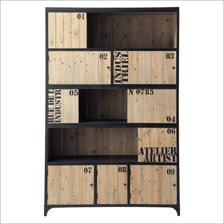 Iron Book Shelf