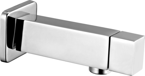 Brass Bib Cock Long Body With Flange Mouth Operate