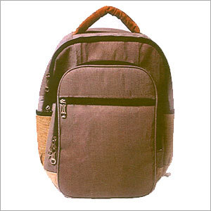Jute Designer Backpack