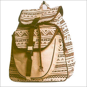Jute Backpack