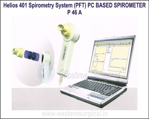 Pc Based Spirometer(Helios 401)