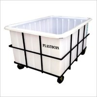 Plastic Material Handling Container