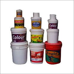 Paint Buckets and Containers
